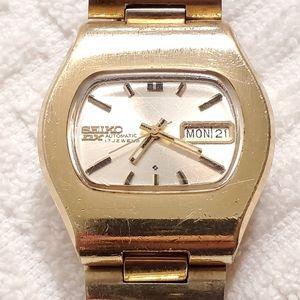 Vintage Seiko DX Automatic Watch 17 Jewels Men's